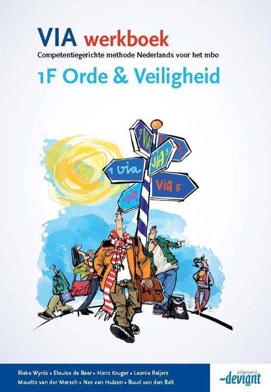 VIA werkboek 1F / Orde & Veiligheid - Rieke Wynia | Fthsonline.com