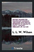 History Reader for Elementary Schools