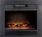 Classic Fire Chicago sfeerhaard - inbouw - LED - elektrisch - 1800 Watt - zwart