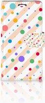 Telefoonhoesje LG Magna | G4C Book Case Hoesje Design Dots