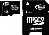 Team Group Micro SDHC 4GB 2GB Micro SDHC Class 10 flashgeheugen