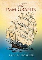Boek cover The Immigrants van Paul M. Hoskins