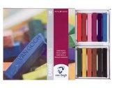 Carré pastel set 24 kleuren semi-soft carrepastels pastelkrijt