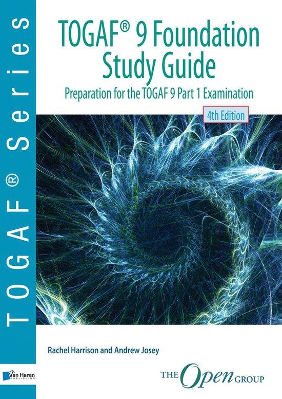 Boek cover TOGAF (R) 9 Foundation Study Guide - 4th Edition van Rachel Harrison (Onbekend)