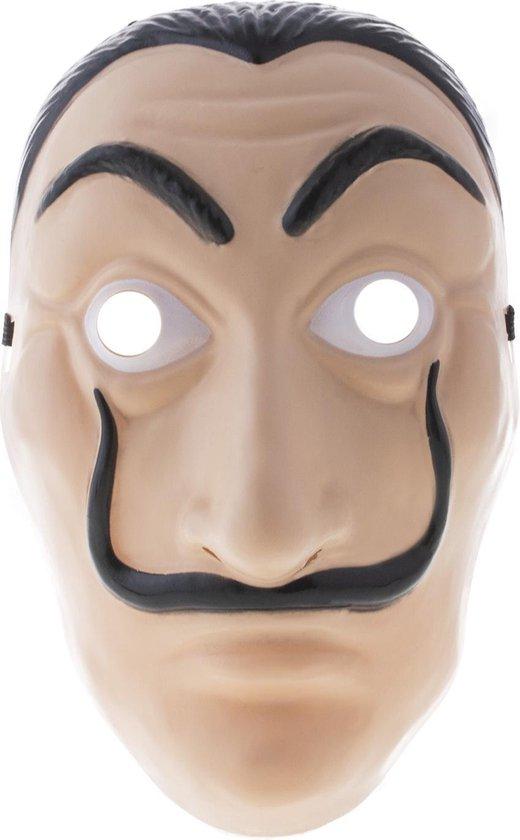 Masker met snor Salvador Dali 'La Casa de Papel'