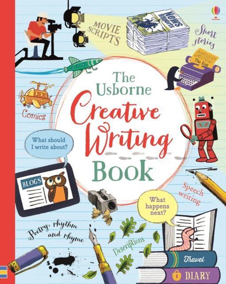 Creative writing book research paper guide