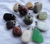hanger, natuursteen, cadeau, jade, onyx etc.