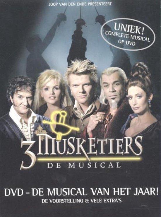 Cover van de film '3 Musketiers'