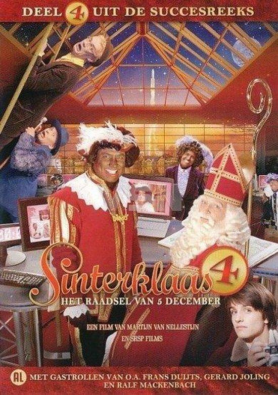 Cover van de film 'Sinterklaas en het Raadsel van 5 December'