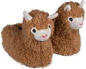 Alpaca/Lama pantoffels voor volwassenen 41/42