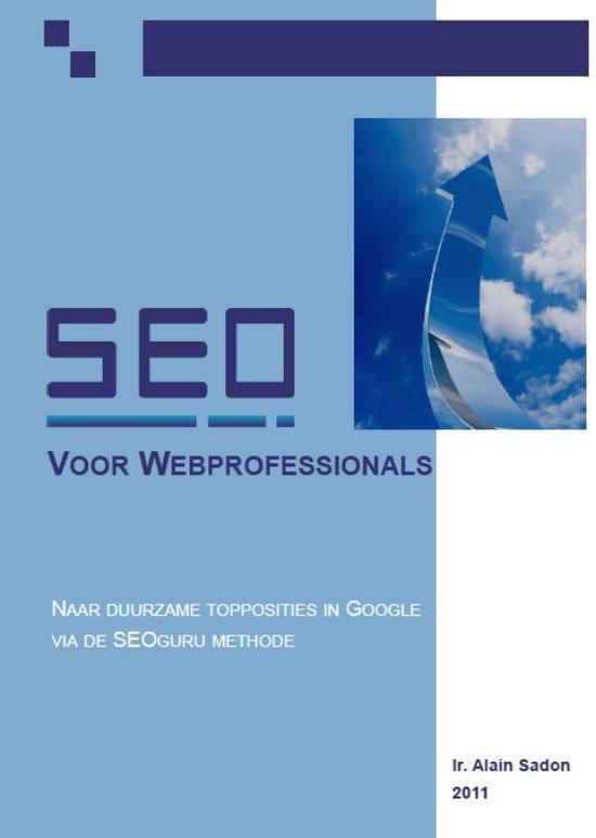 Seo voor webprofessionals - Alain Sadon  
