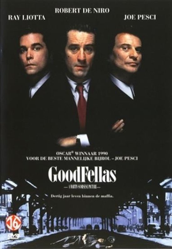 Cover van de film 'Goodfellas'
