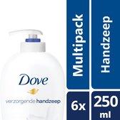 Dove Cream Wash Zeep Pomp - 6 x 250 ml - Voordeelverpakking