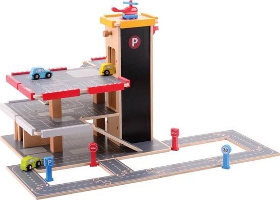 Afbeelding van Jouéco Garage met Accessoires speelgoed
