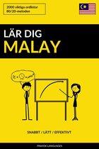 Lär dig Malay: Snabbt / Lätt / Effektivt: 2000 viktiga ordlistor