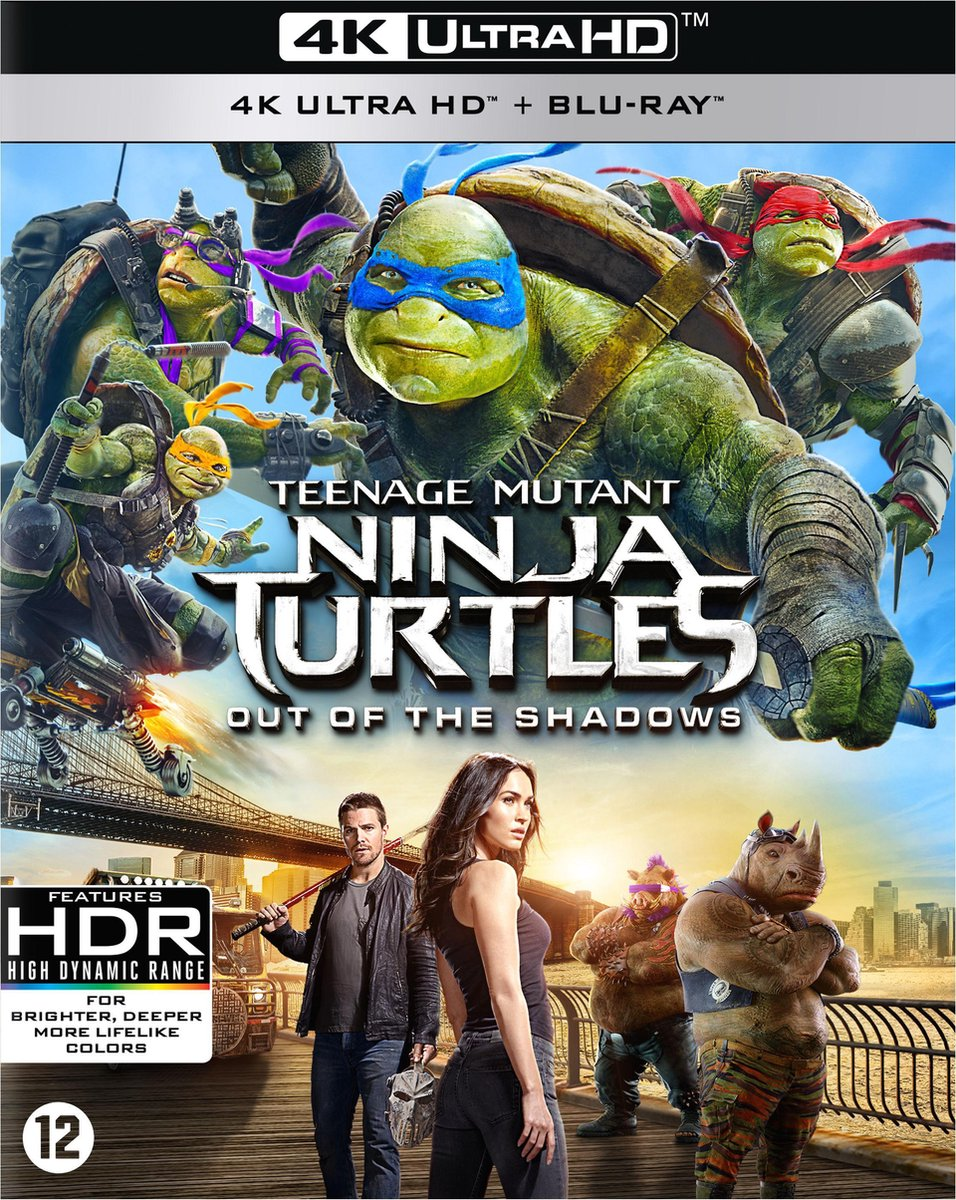 Teenage Mutant Ninja Turtles 2 - Out Of The Shadows (4K Ultra HD Blu-ray)-