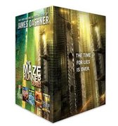 Boek cover The Maze Runner Series Complete Collection Boxed Set (5-Book) van James Dashner (Hardcover)