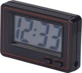 Digitaal Quarz Klokje Met Groot Display - Zwart/Rood - 65x44x13mm