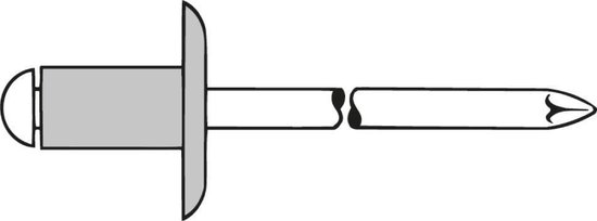 blindklinknagel K 14 aluminium 5x20 (250st.)