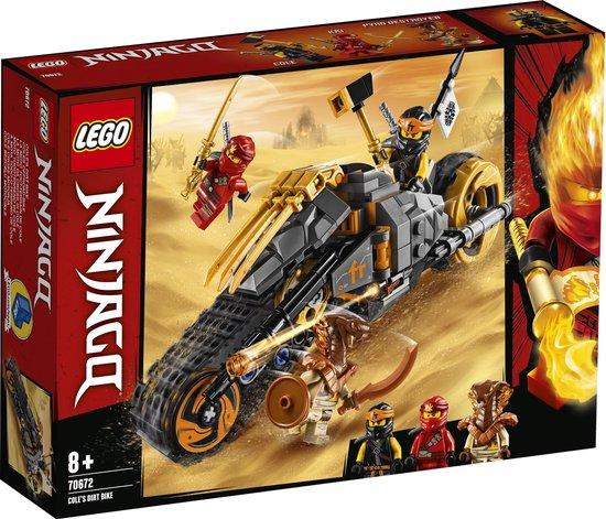 LEGO NINJAGO Cole's Crossmotor - 70672