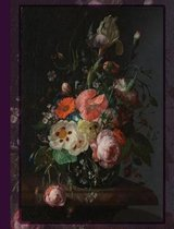 Composition Notebook Vintage Flowers 02