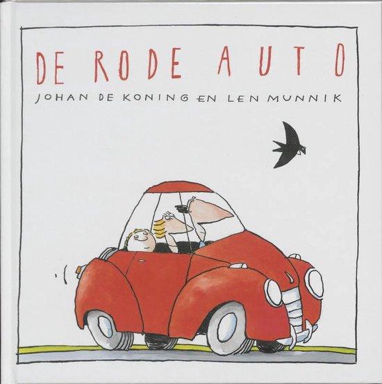 Bol Com De Rode Auto Johan De Koning 9789025955953 Boeken