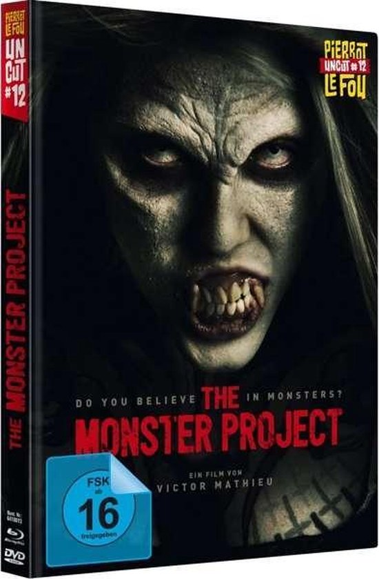 Monster Project (uncut) - Limited Ed. (Blu-ray + DVD)