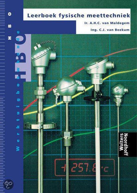 Leerboek fysische meettechniek - A.H.C. van Maldegem pdf epub
