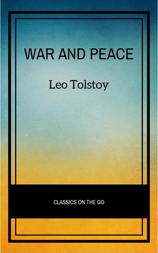 Boek cover War and Peace van Lev Tolstoy (Onbekend)