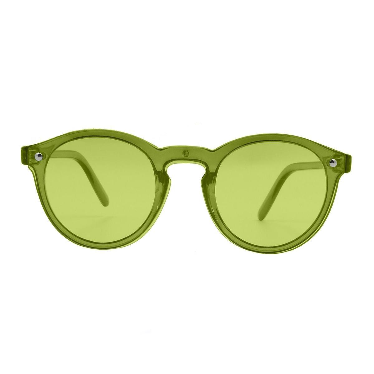 Ocean Sunglasses - Zonnebril - Unisex - 75009-7_MILAN_TRANSPARENTGREEN - Ocean Sunglasses