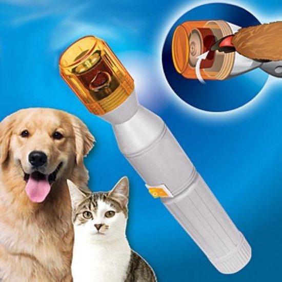 Pet pedicure Elektische Nagelvijl voor Hond en Kat