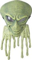 CALIFORNIA COSTUMES - Alien masker en handschoenen voor volwassenen - Maskers > Integrale maskers