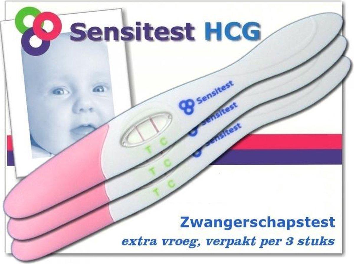 Sensitest zwangerschapstest midstream extra gevoelig 6 stuks - vanaf 6 dagen voor