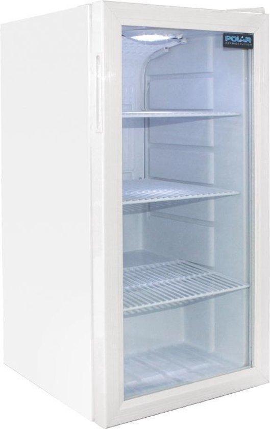 Koelkast: Polar Tafelmodel display koeling 88ltr, van het merk Polar Refrigeration