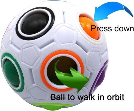 Afbeelding van het spel 6 x Magic Ball stress reliever Puzzelbal