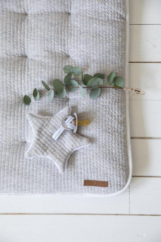 Little Dutch Aankleedkussenhoes - pure grey