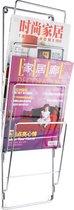 Pt, Wire - Tijdschriftenrek - Grijs - Metaal