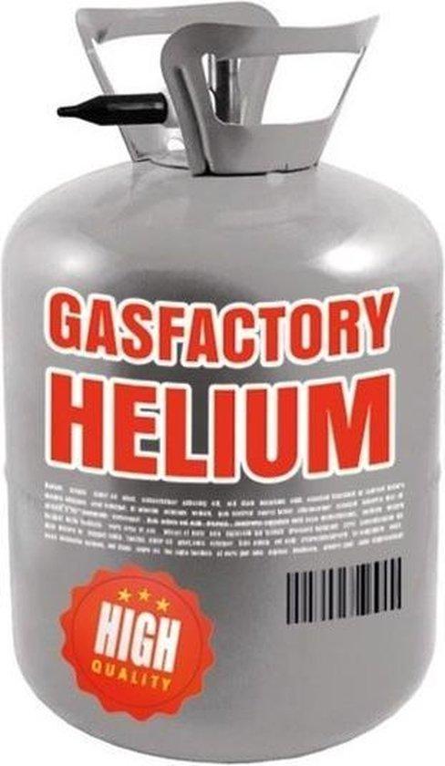 Helium tank voor 30 ballonnen - ook geschikt voor folie ballonnen - Helium ballonnen vullen - Heliumtanks