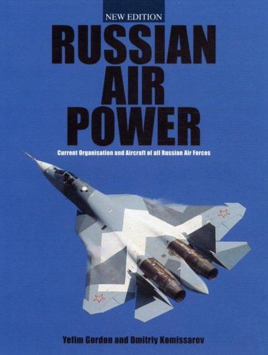 Boek cover Russian Air Power van Gordon Yefim (Hardcover)