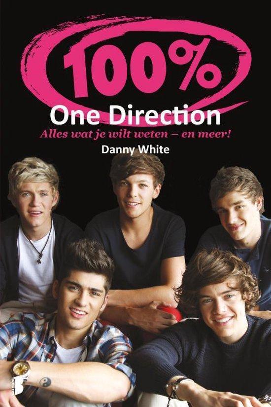 Boek cover 100% One direction van Danny White (Onbekend)