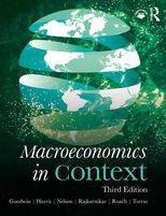 Boek cover Macroeconomics in Context van Neva Goodwin (Onbekend)