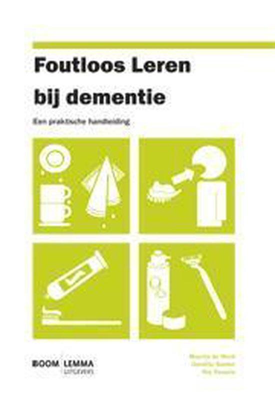 Foutloos leren bij dementie - Maartje de Werd pdf epub