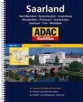 ADAC StadtAtlas Saarland mit Idar-Oberstein, Kaiserslautern, Luxembourg