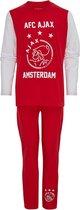Ajax pyjama kinderen - Rood - Maat 92