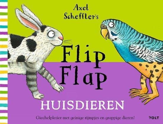 Flip Flap Huisdieren - Axel Scheffler  