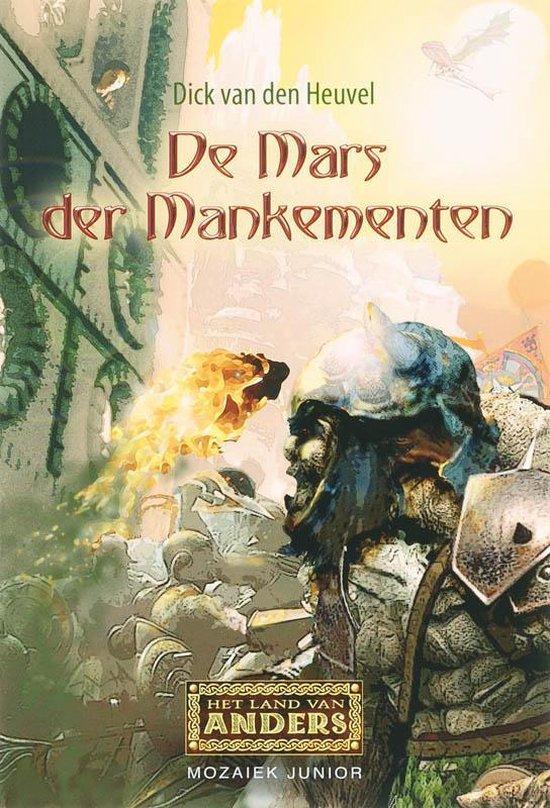Cover van het boek 'De Mars der Mankementen' van Dick van den Heuvel