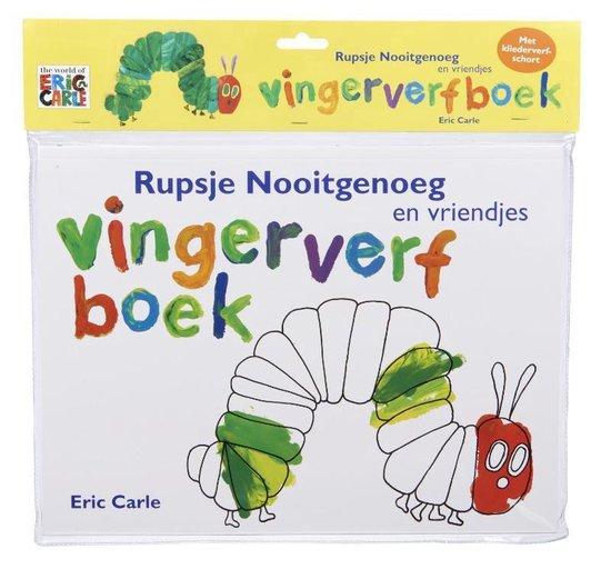 Rupsje Nooitgenoeg - Rupsje Nooitgenoeg vingerverfboek