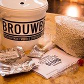 Startpakket bierbrouwen deluxe. Haal dit complete brouwpakket in huis om bier te brouwen in je eigen keuken - zelf bier brouwen!
