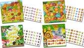 Beloningssysteem met stickers Lieve Diertjes - Complete Set - Plaskaart - Beloningskaart