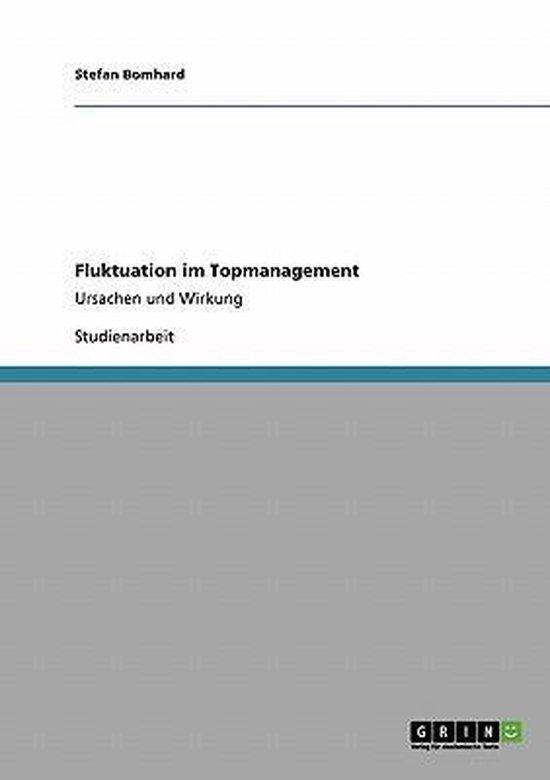 Fluktuation im Topmanagement